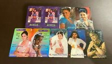 SINGAPORE Phonecards - 9 x $10/20 Set of Silver Screen Cards