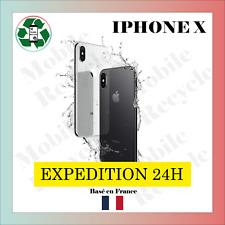 Apple iPhone X 64 / 256 Go/ ARGENT / GRIS SIDERAL // BON ETAT // VENDEUR PRO FR