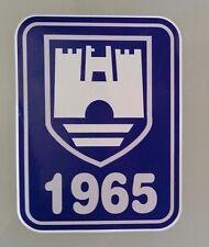 VW 1965 Vinyl Decal Sticker VOLKSWAGEN KOMBI RAT FINK ROCKABILLY BEETLE SAMBA !!