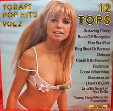 TODAYS POP HITS Vol 2. 1972. Ingrid Steeger on cover.