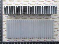 1pcs Aluminum Heat Sink Heatsink Thermal Pad Transfer Blades Silver 200x60x30mm