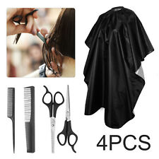 Hair Cutting Hairdressing Salon Barber UK Scissors Shears/Thinning/Comb/Gown Set