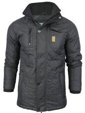 Popper Hip Length Nylon Collared Coats & Jackets for Men