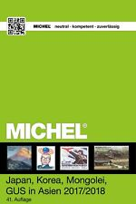Michel Katalog 9.2 Japan Korea Mongolia 2017/2018 catalogus catalogue sale!