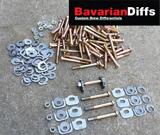 BMW e30 rear subframe camber and toe adjusters (hardware included)