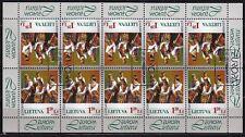 Litauen 1998 Mi.Nr. 664 Kleinbogen ESST Europa-Cept Feste 20,00 EUR