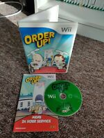 Order Up! - Nintendo Wii Game - With Manual - Private Seller - Free P&P!