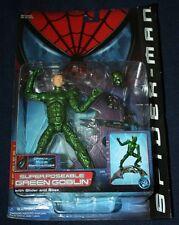 ToyBiz - Spider-Man Movie - Super Poseable Green Goblin - NEW!