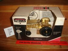 1/16 Case Internationl 606 Gold toy tractor in box