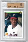 1990 UPPER DECK SAMMY SOSA ROOKIE GEM MINT BGS 10 PRISTINE LOW POP RC