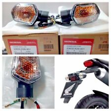 HONDA MSX 125 GROM TURN SIGNAL LIGHTS REAR SET R+L 2013-15 GENUINE PARTS