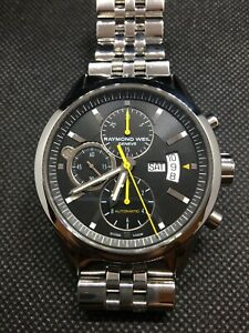 Raymond Weil  Men's Freelancer  Black Automatic Watch