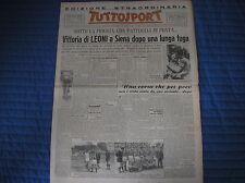 GIRO D'ITALIA VIAREGGIO SIENA LEONI JUVENTUS NICE GANTOIS TUTTOSPORT 21/5/1948