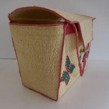 Sac cabas fait main tote bag handmade vintage art nouveau contemporain France