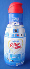 Star Wars R2-D2 robot Nestle Coffee Mate empty bottle limited edition