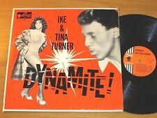 "ORIGINAL MONO R&B / BLUES LP - IKE & TINA TURNER - SUE 2004 - ""DYNAMITE!"""