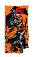 NEW BATMAN v SUPERMAN Heroes orange Bath/Beach Towel 70x140 cm 100% COTTON
