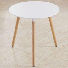 Esstisch weiss Rund Holztisch Esstisch 80*80*72cm Küchentisch Esszimmertisch Nue