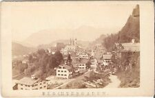 CDV photo Historische Ansicht Berchtesgaden - 1870er