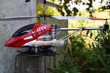 BR6008 V MAX 3.5 CHANNEL ALLOY METAL FRAME RC HELICOPTER GYRO FLASHING LED LIGHT