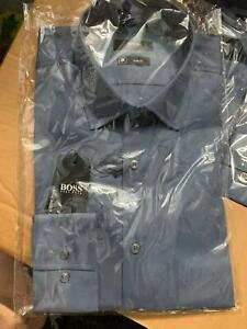 Hugo Boss Jonty Slim Fit Solid Travel Dress Shirt $158