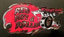 Vintage Snap-On Snap On Tools Tool Box Cabinet Sticker Emblem Decal Shop Garage