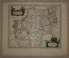 1737 Genuine Antique map China Province, Suchuen, exquisite. by D'Anville