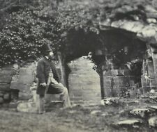 More details for 1860s stereoview photo warwickshire illustrated kenilworth castle f. bedford