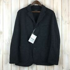 Waist Length Blazers Wool Regular Coats & Jackets for Men