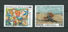TABLEAUX d' ART  - 1987 YT 2473 à 2474 - TIMBRES OBL. / USED