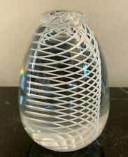 Authentic Steuben Glass Pineapple Shape Swirl Paperweight