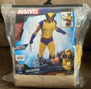 Premium Marvel Wolverine Men's Costume Charades Sz M (40-42) NEW