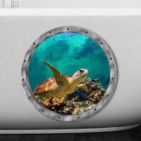 Wandaufkleber wasserdicht Schildkröte Aufkleber für Waschmaschine Dekorat*SM
