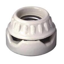 100 Pk Leviton White Porcelain Single Circuit Light Bulb Lampholder 001-09880