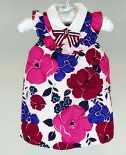 NWT JANIE AND JACK Little Blossom Floral Knit Romper Outfit Size 18-24 Months