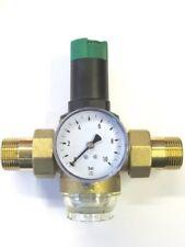 """Honeywell D06 F Braukmann Druckregler 1' 3/4' 1/2"""" + Manometer Druckminderer"""
