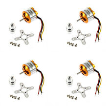 4Pcs A2212 13T Brushless Outrunner Motor KV1000 for Airplane Aircraft Quadcopter
