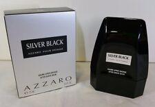 AZZARO SILVER BLACK MAN AFTER SHAVE BALM DOPOBARBA EMULSIONE 75ML. VINTAGE RARO