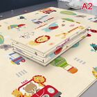 Foldable Baby Play Mat Puzzle Educational Children's Carpet Climbing Pad LD