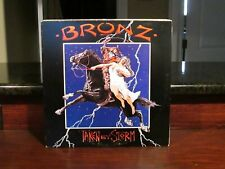 BRONZ--Taken By Storm--Vinyl LP--w Promo Stamp