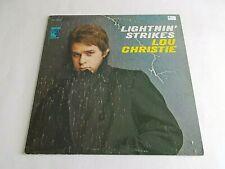 Lou Christie Lightnin' Strikes LP 1966 MGM Stereo Vinyl Record