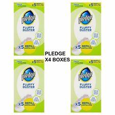 Pledge Fluffy Duster Refills X5 (pack of 4)