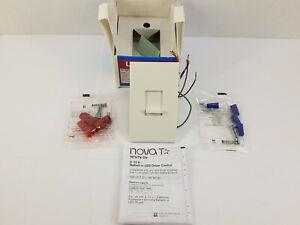 LUTRON NTSTV-DV-WH NovaT Control Slide Dimmer for LED 0-10VDC Drivers & Ballasts