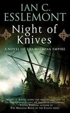 Novels of the Malazan Empire: Night of Knives 1 by Ian C. Esslemont (2010, Paper