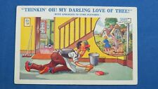 RARE WW2 Comic Postcard 1939 1945 Evacuation Home Cyril Fletcher MY DARLING LOVE