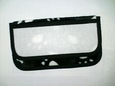 Etui à lunettes Téléphone Pochette à broder point de croix Patte de velours noir