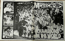 ENGLAND Rugby Union World Cup Winners 2003 Newspaper Australia Final Japan 2019