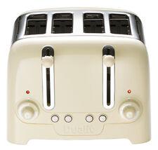 Dualit Lite 4 Slot Toaster Cream Gloss - 46202