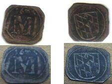 Schwarzpfennig Silber Münze Bayern 1674  SEHR SELTEN !!! ANSCHAUEN !!!
