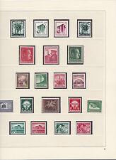 Komplette Sammlung 3. Reich OSTMARK ANK 662 - 910 Postfrisch ** MNH € 2.676,--